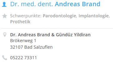Dr. Brand